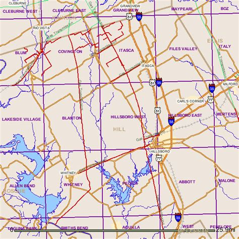 hill county texas map hill county texas gas pipelines