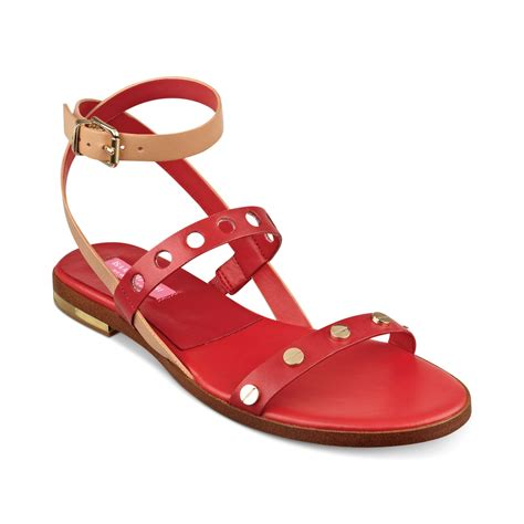 isaac mizrahi sandals isaac mizrahi new york stroll flat sandals in lyst