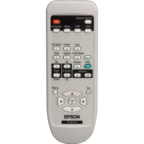 Remote Proyektor Epson Epson 1519442 Remote For Powerlite 84 85 825 1519442