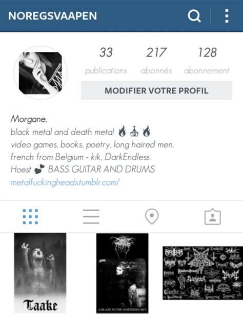 tumblr themes on instagram metalheads instagram tumblr
