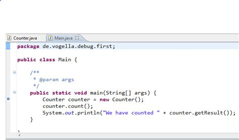 java pattern vogella java debugging with eclipse tutorial
