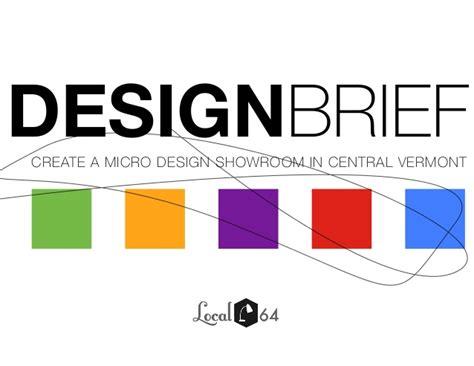 design brief l local 64 design brief a new home micro design showroom