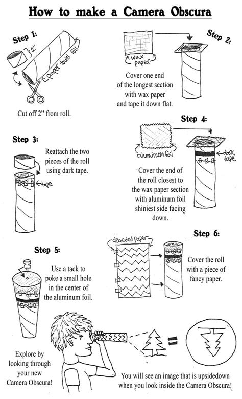 How To Make A Pinhole With Paper - 1000 images about paper towel rolls on paper