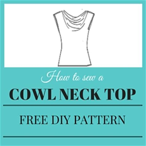 Pattern Draping 2 Ways To Make A Stunning Cowl Neck Top Pattern Sew Guide