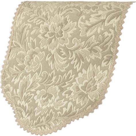decorative chair back covers decorative single antimacassar chair back floral jacquard
