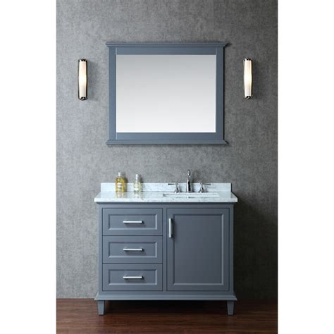 single vanity bathroom ariel by seacliff nantucket 42 quot single sink bathroom