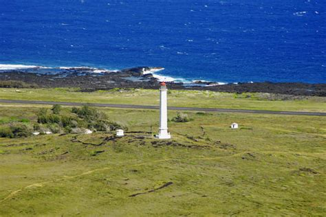 Awn Rainfall by Moloka I Light Lighthouse In Kalaupapa Hi United States