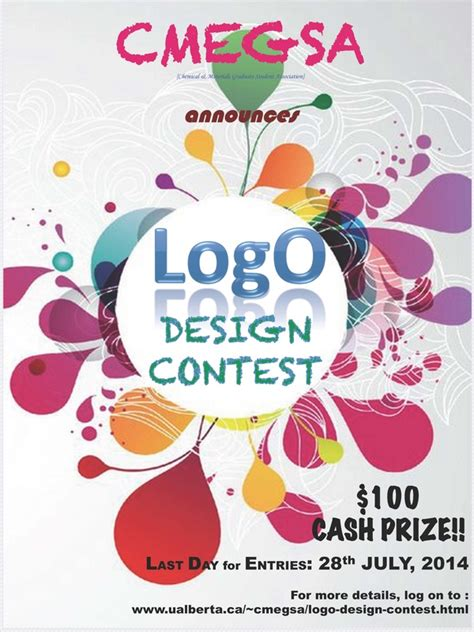 design competition prompts logo design contest chemical and materials engineering