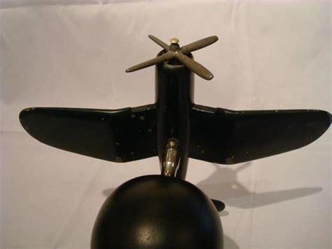 Desk Fighter by Deco Airplane Fighter Desk Model Vought F4u Corsair