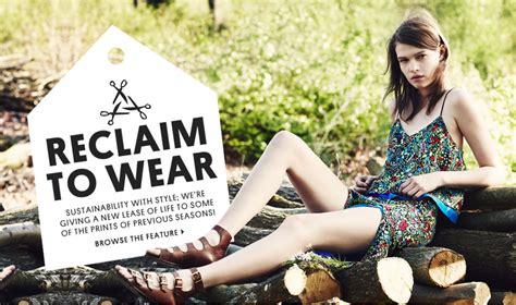 zaras  topshops arrival   sustainable fashion world