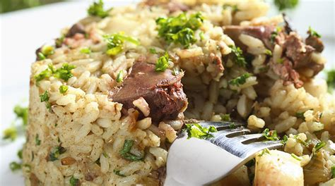 cucinare il fegato di manzo ricetta risotto al fegato di manzo giornale cibo