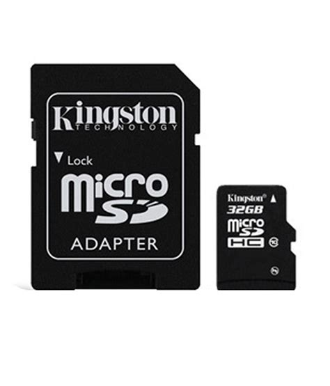 Micro Sd Card 32 Giga kingston 32 gb micro sd card class 10 buy kingston 32 gb