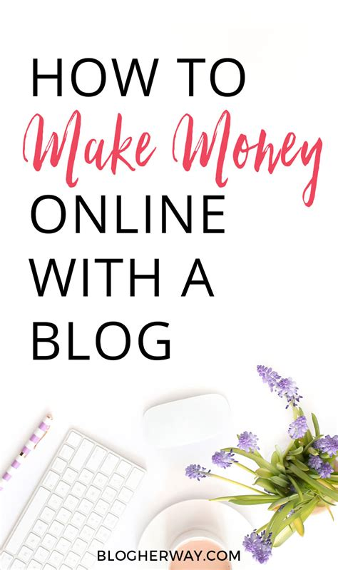 How Can I Make Money Online Today - how to make money online with your blog blog her way