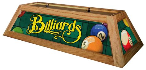 wood pool light billiards green pool light with oak stained wood