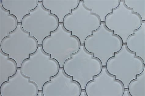snow white arabesque glass mosaic tiles kitchen backsplash bathroom tile ebay