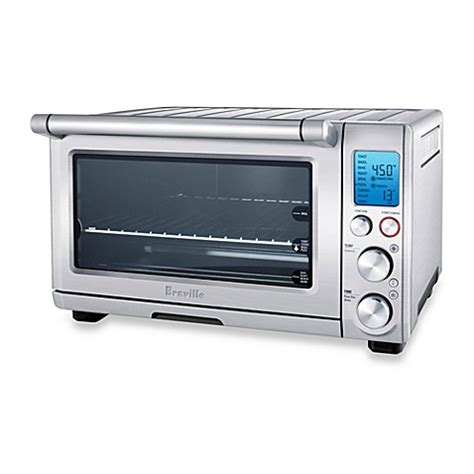 bed bath beyond toaster breville 174 the smart oven convection toaster oven bed