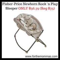fisher price deluxe newborn rock n play sleeper only 36