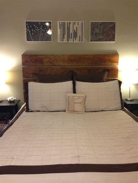 plywood headboard diy plywood headboard bedroom