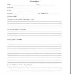 Sle Book Reports For 5th Graders by Elementary On Book Report Templates Esl And Paper Basket