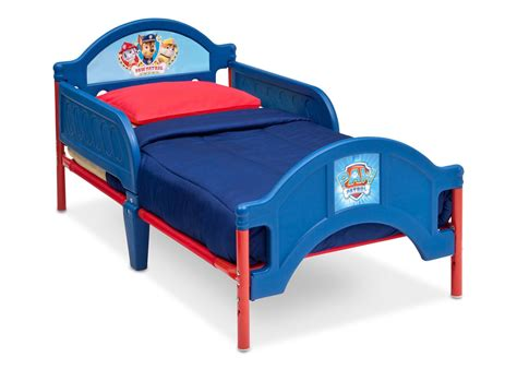 paw patrol bed paw patrol plastic toddler bed delta children s products