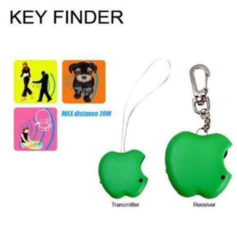 Apple Key Finder 2017 Key Ring Finder Green Apple Keyfinder Whistle 1