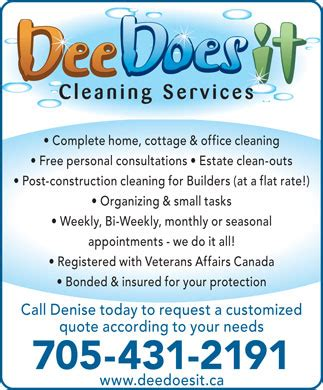 house cleaning services advertisement