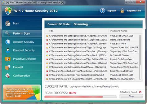 remove win 7 home security 2012 av malwaretips