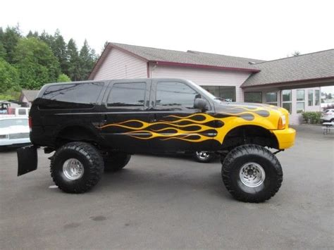 2000 Ford Excursion Xlt by 2000 Ford Excursion Xlt 15in Lifted On 44 S For Sale