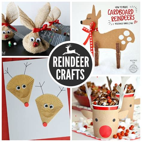 craft reindeer 27 adorable reindeer crafts to make
