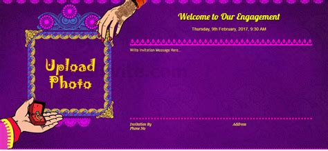 engagement invitation card templates free in marathi free engagement invitation card invitations