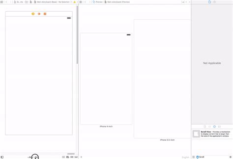 xcode scroll layout xcode scroll view over full width and height ios