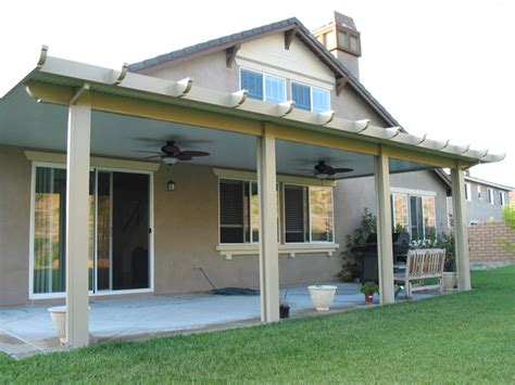 Residential Patio Awnings Solid Alumawood Patio Covers Griffith Awnings