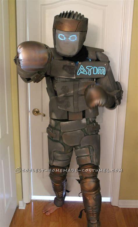 film robot atom homemade atom robot costume from real steel