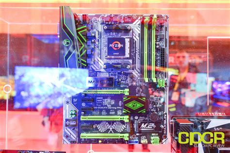 Motherboard Maxsun Ms B350fx Gaming Pro ces 2017 amd reveals ryzen chipset details am4 motherboard partners system partners at amd
