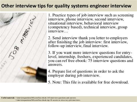11 interview questions for qa managers