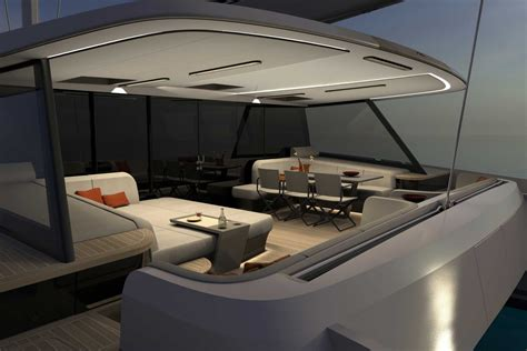 vantage design vantage catamaran ready for build nigel irens design
