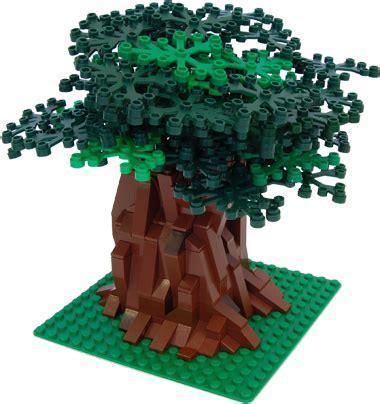 how to make a lego tree tree