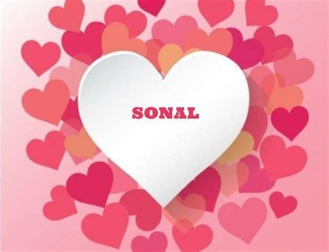 Sonal Name Wallpaper