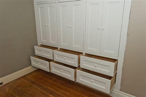 Builtin Closets by High Park Two Built In Closets Traditional Bedroom