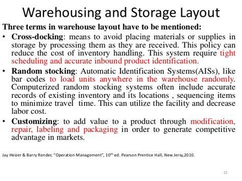 Warehouse Layout Advantages | facility layout