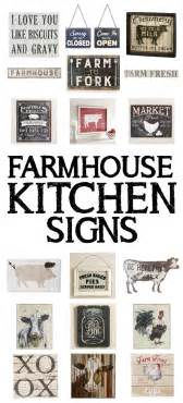 My Future House Design 15 farmhouse kitchen signs how to nest for less