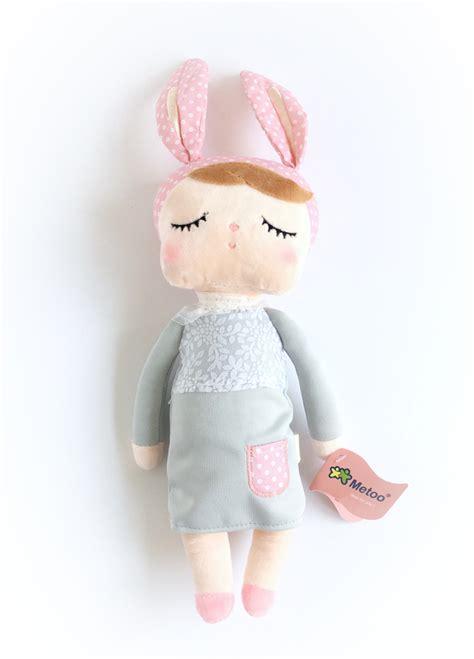 Boneka Metoo Angela Bunny Pink me angela sleepy rabbit doll qualifys for free