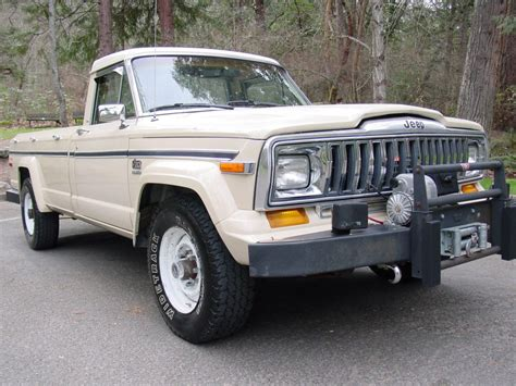Jeep J20 For Sale 1985 Jeep Only 77k Stock J20 4 215 4 V8360 Auto Trans Factory