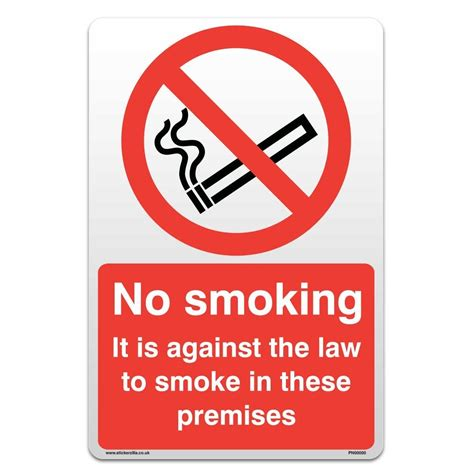 no smoking sign ebay no smoking sign self adhesive sticker ebay