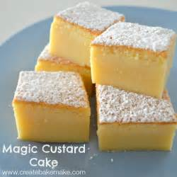 magic custard cake create bake make