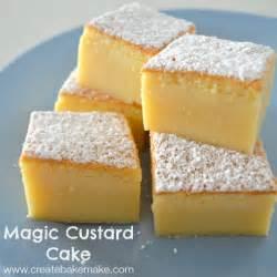 magic custard cake create bake make