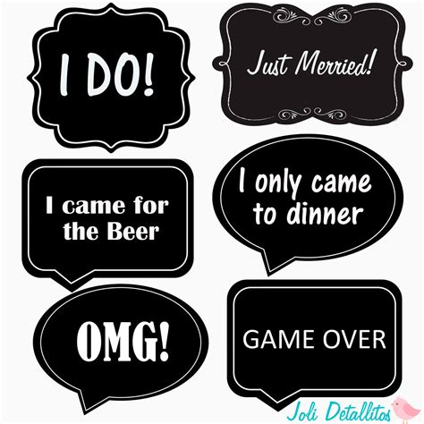 photo clipart wedding props word photo props printable diy