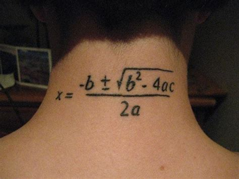 math tattoo 11 great geeky math tattoos mental floss