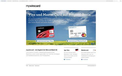 wirecard bank ag prepaid angebot der wirecard bank ag vereint ab sofort das