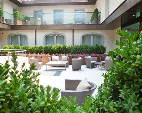progettazione giardini bergamo allestimento spazi esterni hotel relais san lorenzo bg